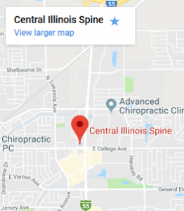 Central Illinois Spine Location